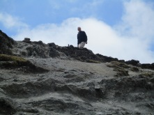 Als je hier te snel probeert te klimmen (> 4.100m) wordt je duizelig