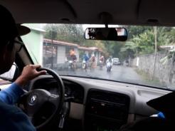 Een prestatiefietstocht (in de regen)