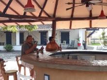 Bar bij het zembad(je) Dona Barbara